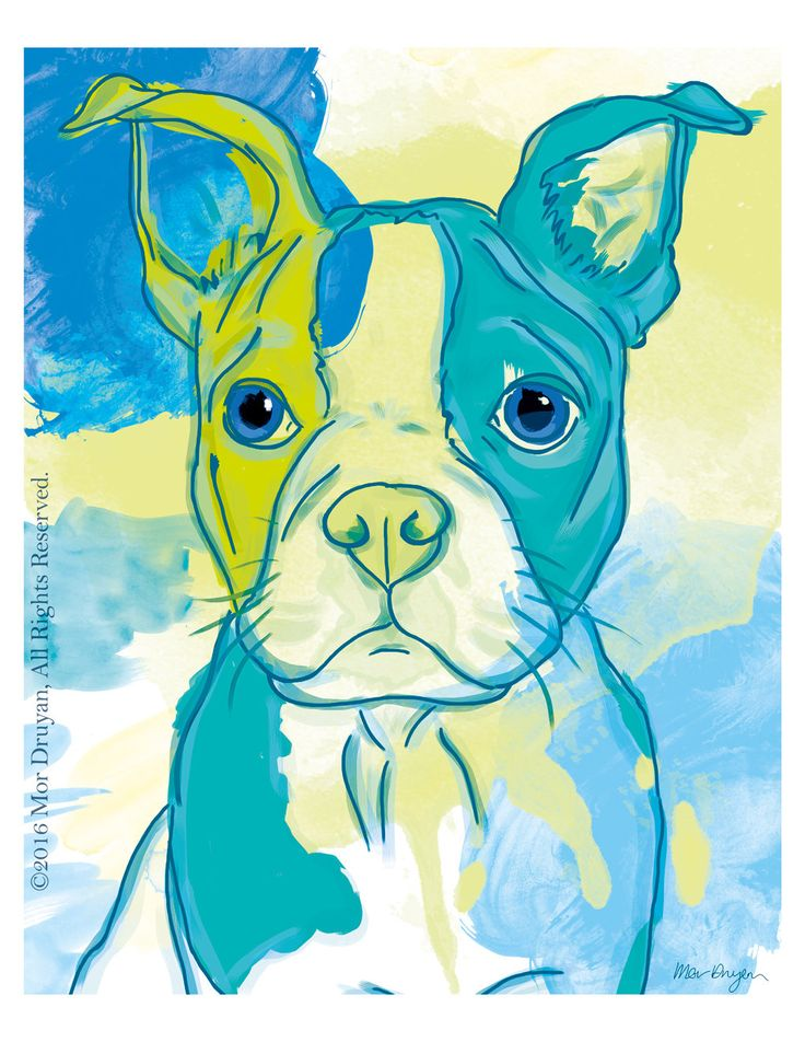 Excited to share the latest addition to my #etsy shop: Boston Terrier Goofy Puppy Art Print of Original Painting-8x10-Boston Terrier Art-Pet Portrait-Boston Terrier gifts-Wall Decor-Nursery Decor #art #print #giclee #blue #bostonterrier #dogdrawing #petportrait #artprint http://etsy.me/2HarnBj