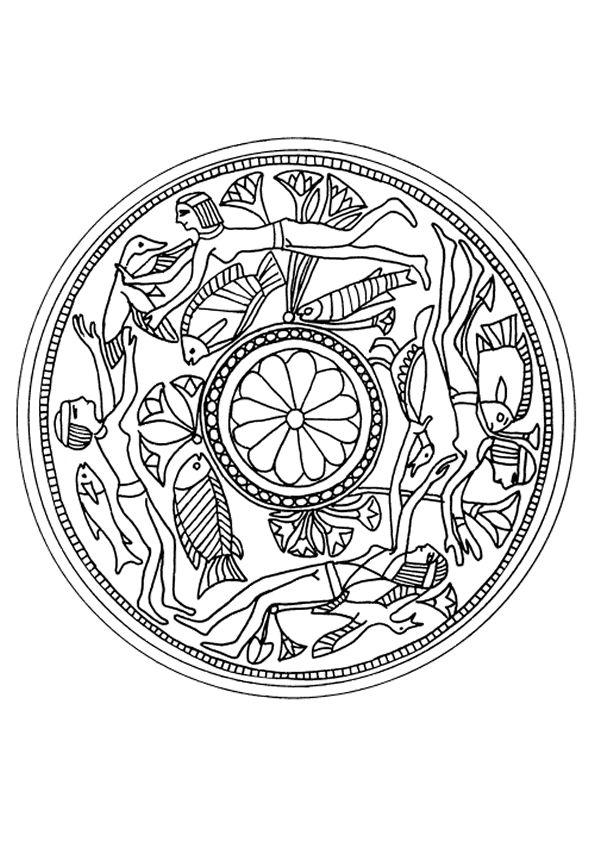 485 best Coloriages Mandala images