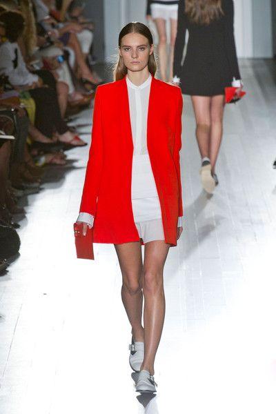Victoria Beckham, New York Fashion Week, Spring 2013.
