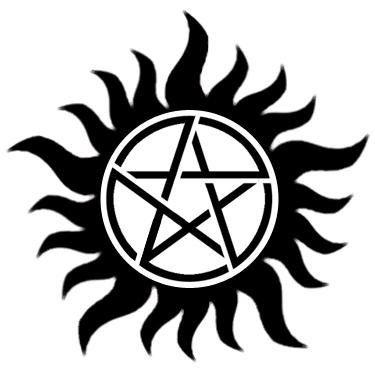 Supernatural Anti-Possession Tattoo Pentagram 2-in-1 Pattern