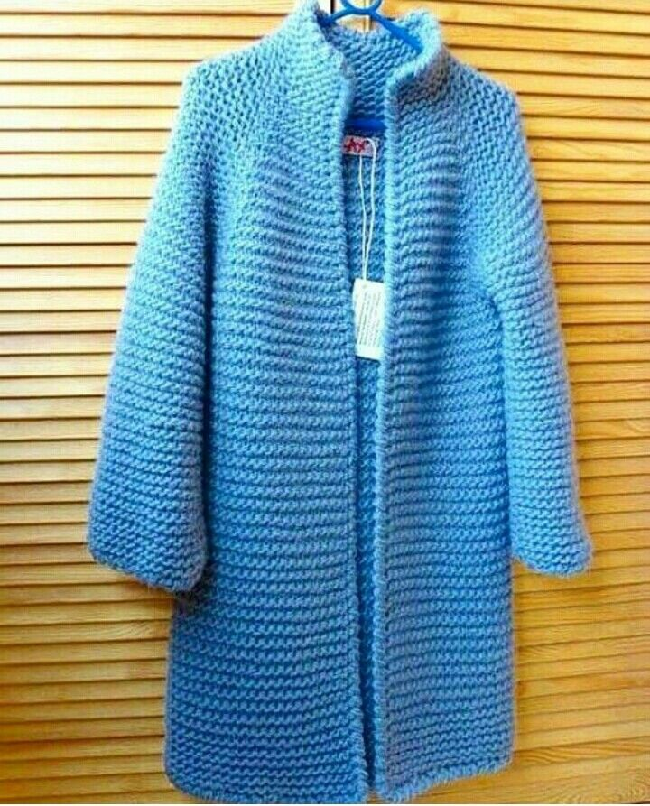 Knitted coated