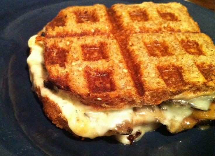 how to make breakfast waffles