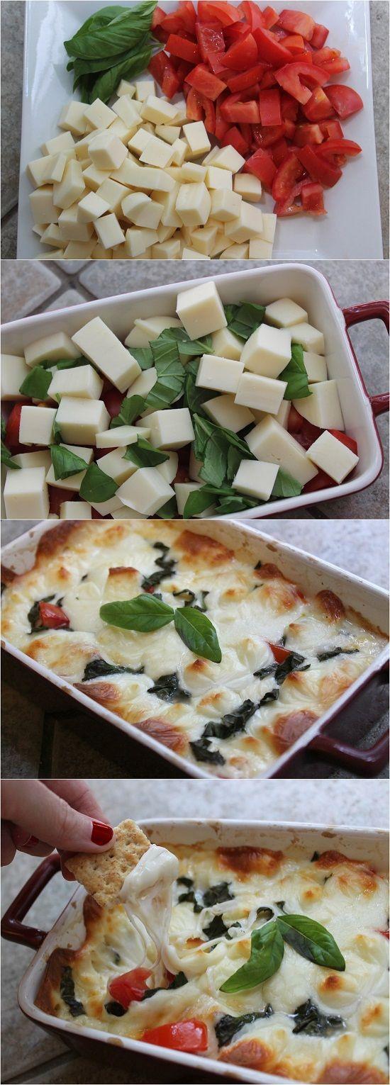 Dip de Mozzarella y Tomate.