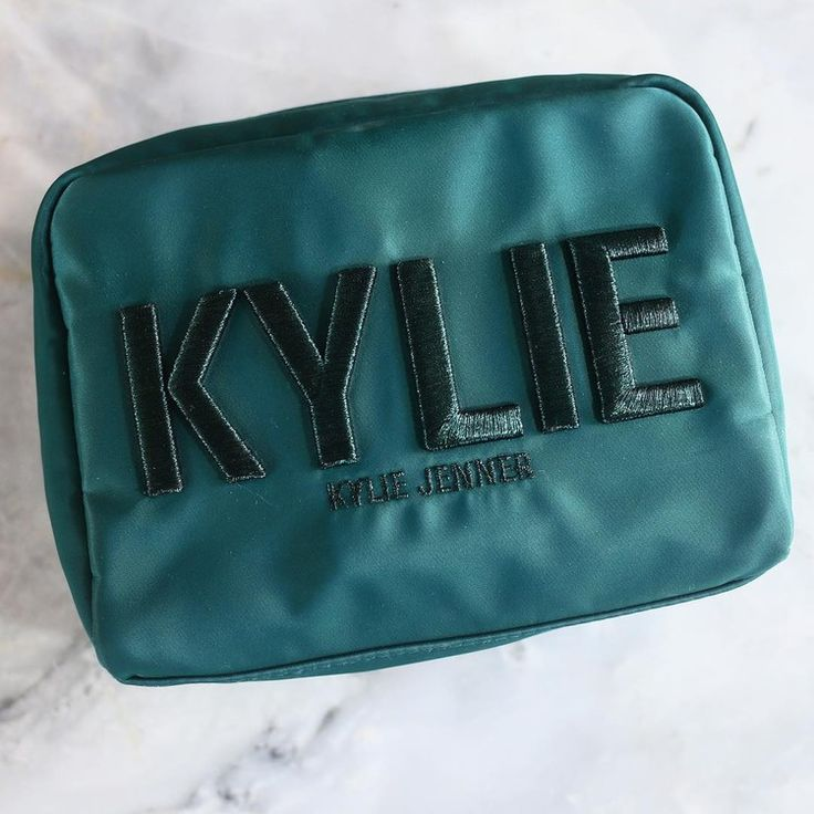 Kylie Jenner Is Giving Away Kylie Cosmetic Makeup Bags, So You Can Store All Your Lip Kits