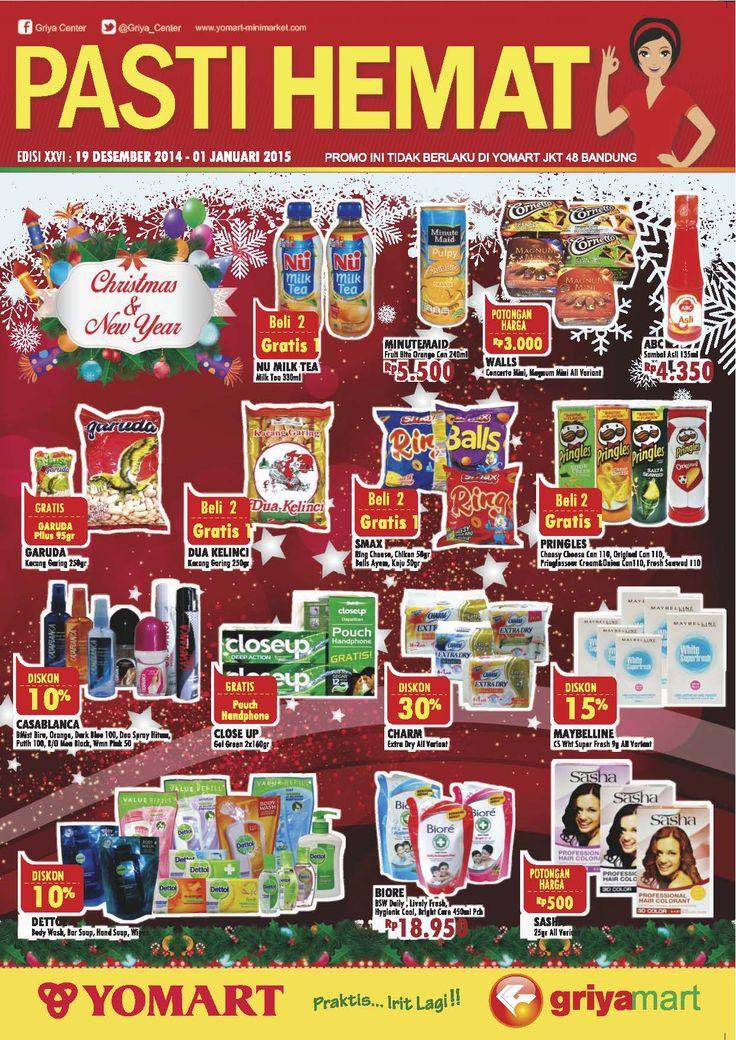 PROMO PAHE Edisi 26 | Periode 19 Des '14 - 01 Jan '15 *Not : Promo tidak berlaku di YOMART JKT 48
