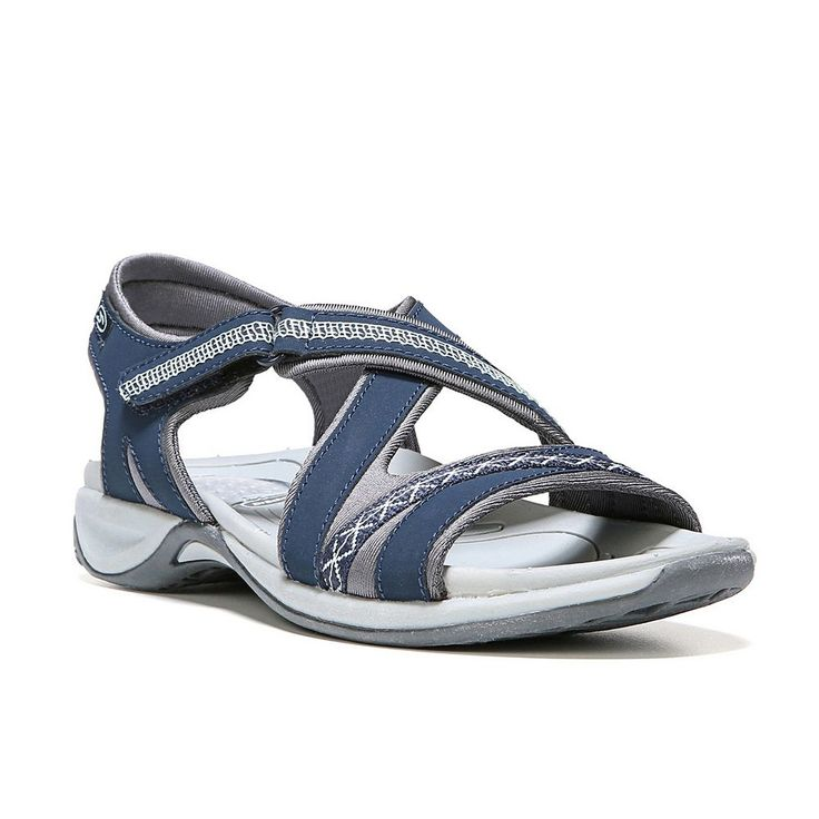 Dr. Scholl's Panama Women's Sport Sandals, Size: medium (6.5), Blue