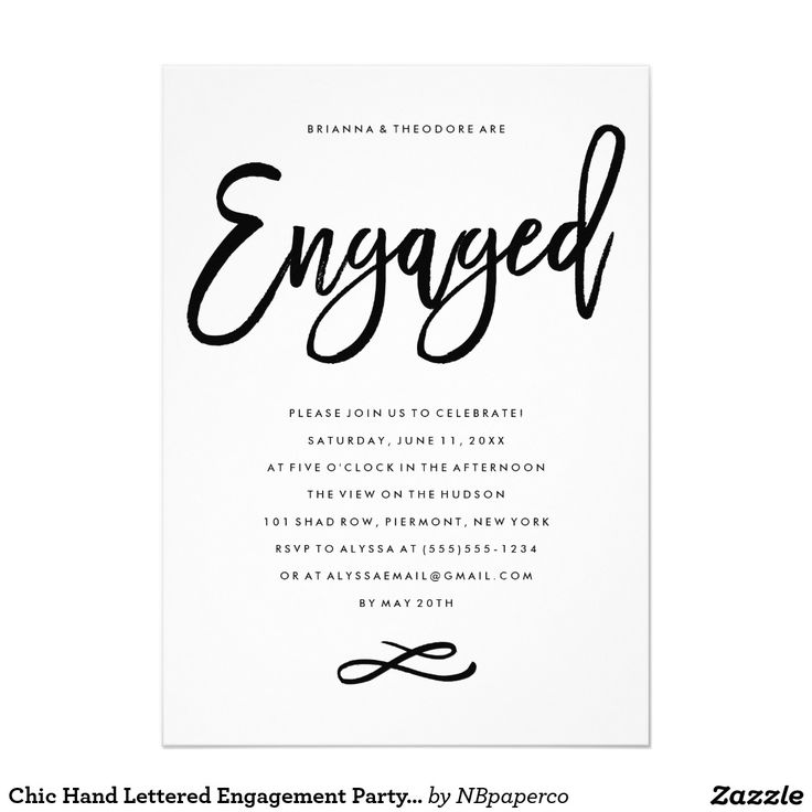 617 best Engagement Party Invitations images on Pinterest - engagement party invites templates