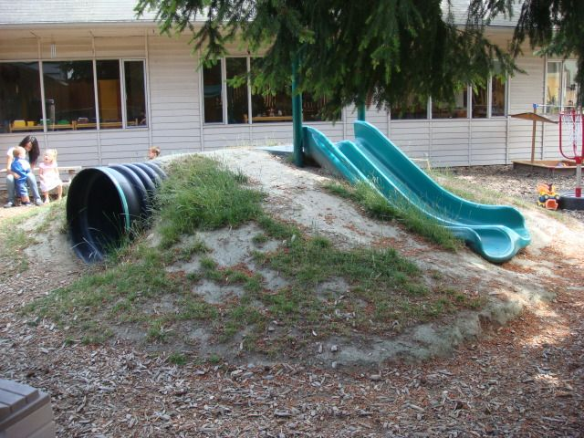 Bad Erosion Example Of Hill Slide Playgrounds