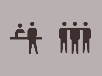 Human Icon Design by Sascha Elmers #human #people #icon #icondesign #iconography #picto #pictogram #symbol #customicon #reception #infopoint #team #group #symbol #minimal #isotype #gerdarntz #humanbeing #minimal #person #people #reception #infopoint #signage