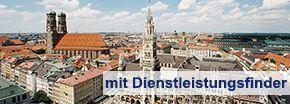 Panoramaansicht von München