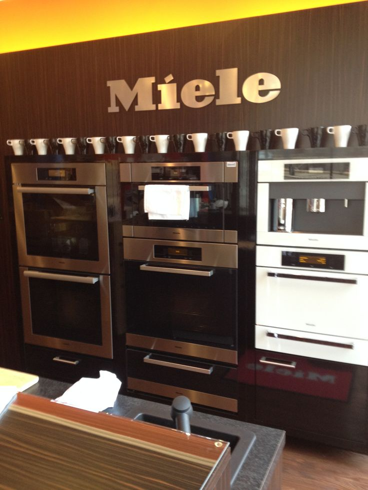 Stop into our showroom to explore the miele appliances for Küchen miele
