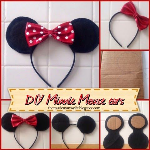 DIY Minnie Mouse ears: A last-minute Halloween costume