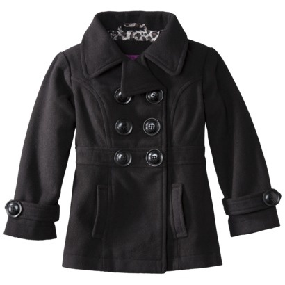 Toddler Girls' Peacoat-would be cute to have matching coats for the girls!