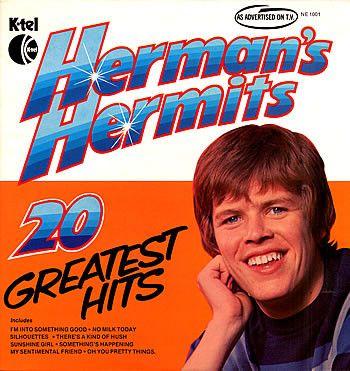 Herman's Hermits - 20 Greatest Hits (Vinyl, LP) at Discogs