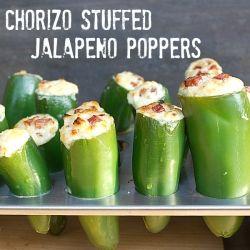 Chorizo Stuffed Jalapeno Popper by theblackpeppercorn: Chorizo Stuffed, Jalapeno Poppers Recipes, Jalapeño Poppers, Stuffed Jalapeño, Appetizer, Stuffed Jalapenos, Pizza Ovens, Parties Food, Cream Chee