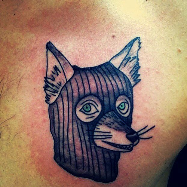 Fantastic Mr. Fox tattoo. Art by Toph @ Enigma Tattoos & Piercing in StL, MO