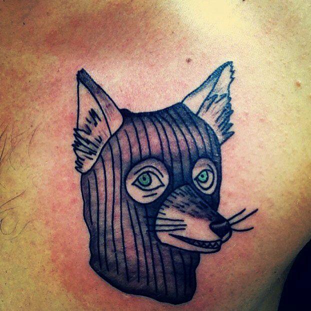 Fantastic Mr. Fox tattoo. Art by Toph @ Enigma Tattoos & Piercing in StL, MO