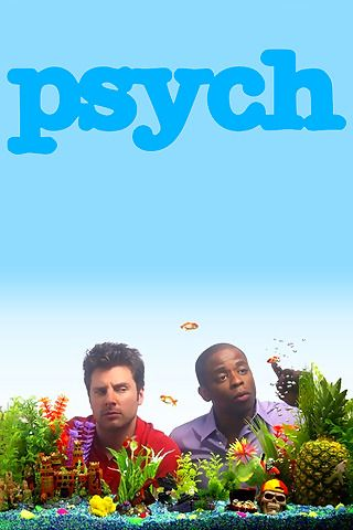 Psych: James Roday and Dule Hill