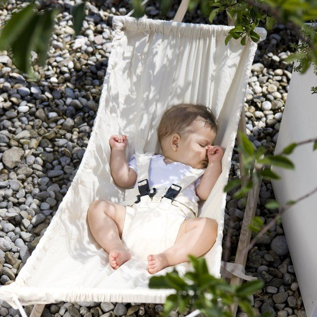 Let your baby relax and drift off to sleep with the Koala #Baby #Hammock and Stand from Cuckooland.
