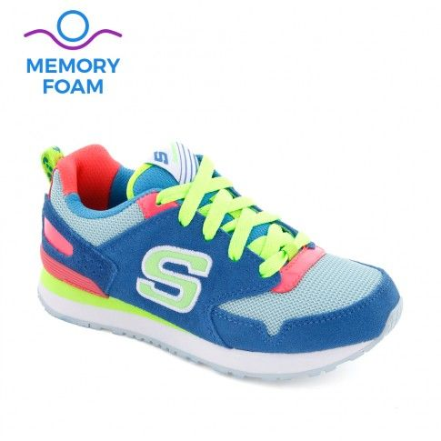 Pantofi sport fete Retrospect Blue - Skechers