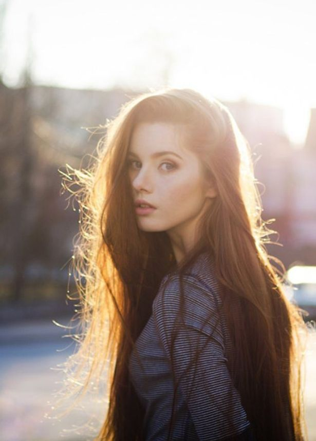 Beautiful Girl With Pretty Long Hair #hair #hairextensions