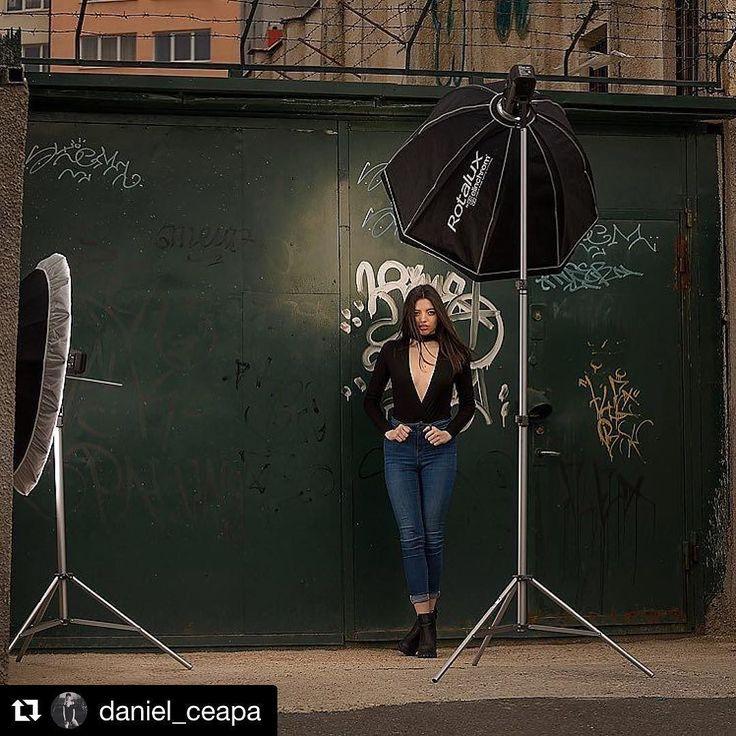 Behind the scenes by @daniel_ceapa: Julia . . . #Shooting #BehindTheScenes #model #location . . . #saturday #grafitti #street #portrait #bts #urban #famousbtsmag #iso1200 #f9mag #canon #godox #elinchrom #fstoppers #portraitsru #iso1200magazine