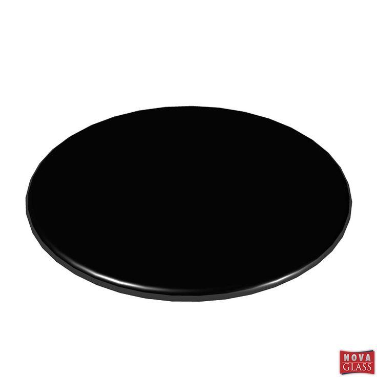 Περιστρεφόμενη βάση με μαύρο κρύσταλλο Φ30 Κωδ. BG4476B | Nova Glass e-shop