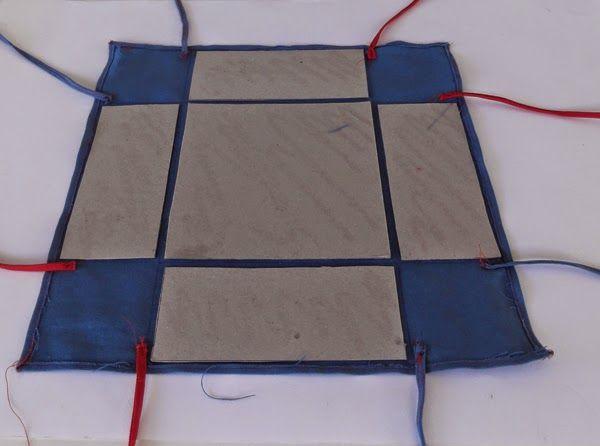 Textile Decorative Arts: How to make a stiff fabric bread basket.