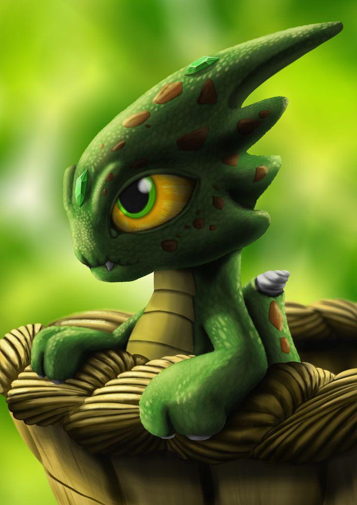 Little Dragon #fantasy #dragon #digitalart #cute #monster # photoshop #Art