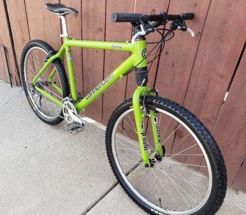 f2603604c7d buy 1999 Cannondale F500 Mountain Bike Shimano XT Headshok ...