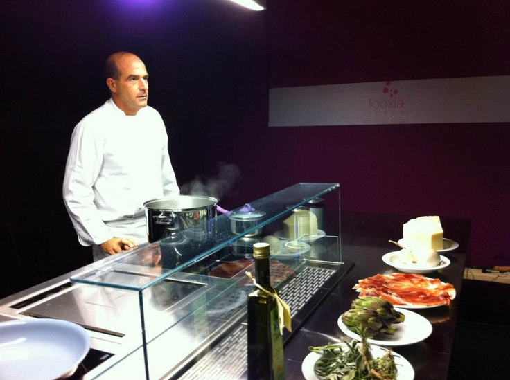 FOOXIA, a 'food concept place' created by Fabio Bongianni & Igor Ferraro in collaboration with Arclinea Design Cooking School.  #Arclinea #Design #Cooking School. #food #foodesign