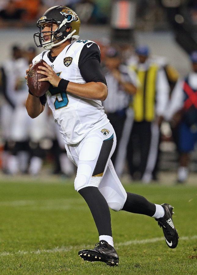 Blake Bortles, Jacksonville Jaguars - my money's on him this year!