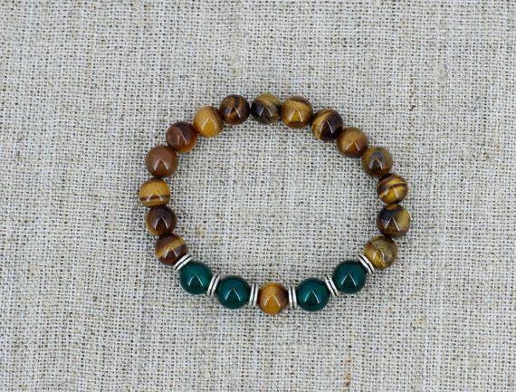 Tiger Eye Bracelet Men Bracelet Men Jewelry Urban Outfitter Birthday Gift for Boyfriend Gift for Men Gift for Dad Gift for Gift