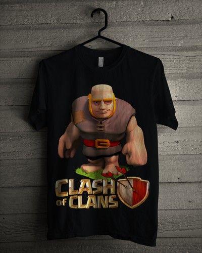 Kaos Giant COC - Bikin Kaos Satuan