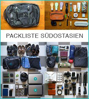 Reise-Equipment