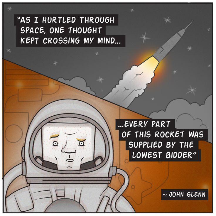 John Glenn's best quote. #Respect