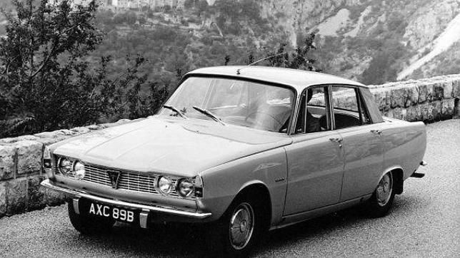 El coche en el que sufrio el accidente mortal Grace Kelly. Rover P6 3500.