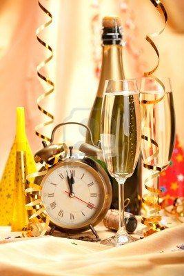 Gelukkig Nieuwjaar - partij decoratie