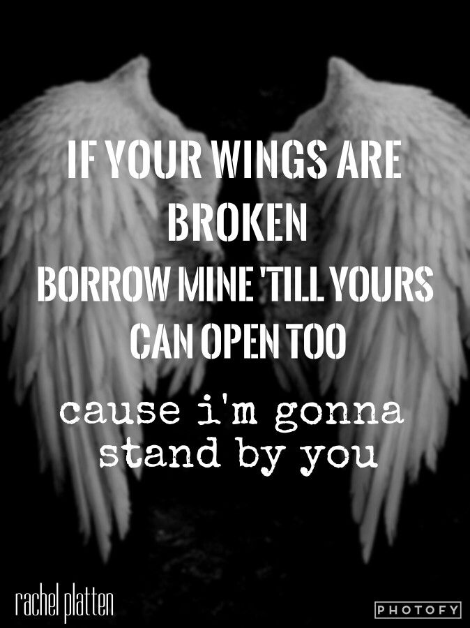 Rachel Platten ----- Stand by you lyrics
