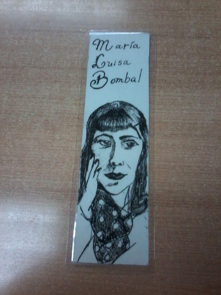 María Luisa Bombal Marcadores de libros www.raicesescultura.cl