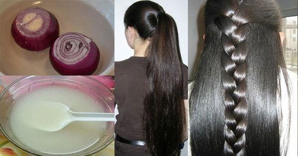 Cebola como usar para tratar a queda de cabelo e acelerar o crescimento. Essa receita caseira funciona e faz crescer o cabelo super rápido.
