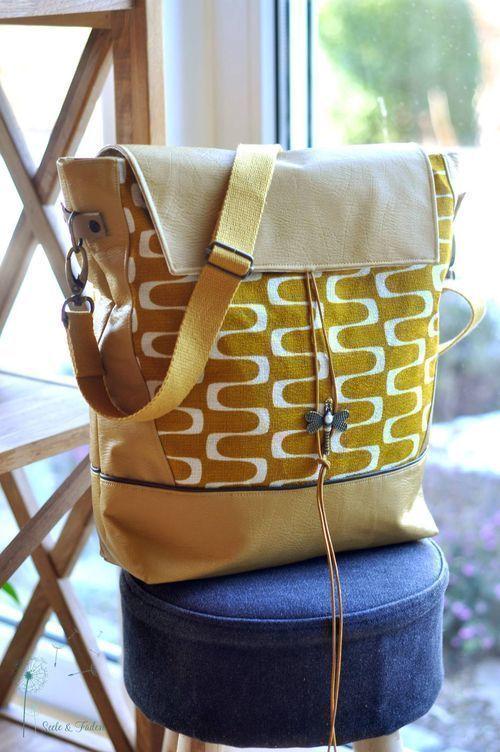 Shopper Mathea, Nähanleitung und Schnittmuster bei Makerist | Sewing ...