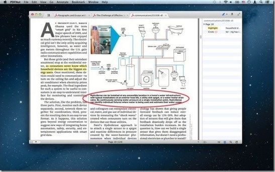 PDFNut For Mac: Free PDF, MOBI And EPUB Reader With Tabbed Interface