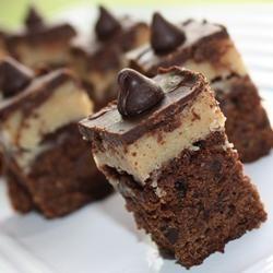 Hier heb ik trek in. Brownies met koekjesdeeg @ allrecipes.nl
