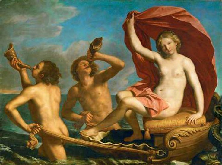 8 Giovanni Francesco Barbieri, called Guercino, 1591-1666. Künsthistorische Museum, Wien.Galatea1656