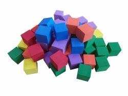 Kostky pěnové barevné