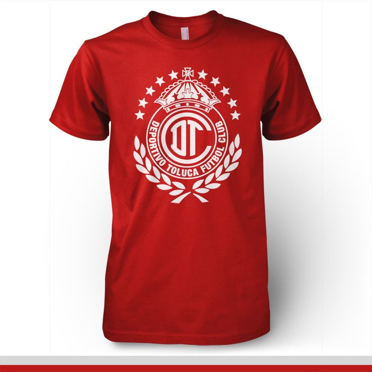 Deportivo Toluca Mexico T-shirt Diablos Rojos