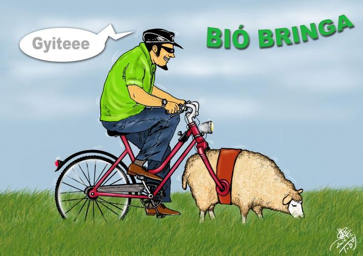 A hét karikatúrája: Bió bringa   Autoszektor