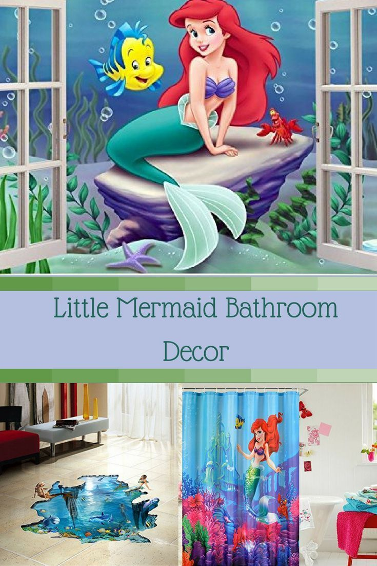 Fun Trendy And Gorgeous Little Mermaid Bathroom Decor If You Have A Darling Little Daughter Or Grandchild Who Loves The Little Mermaid Then Why Not Give