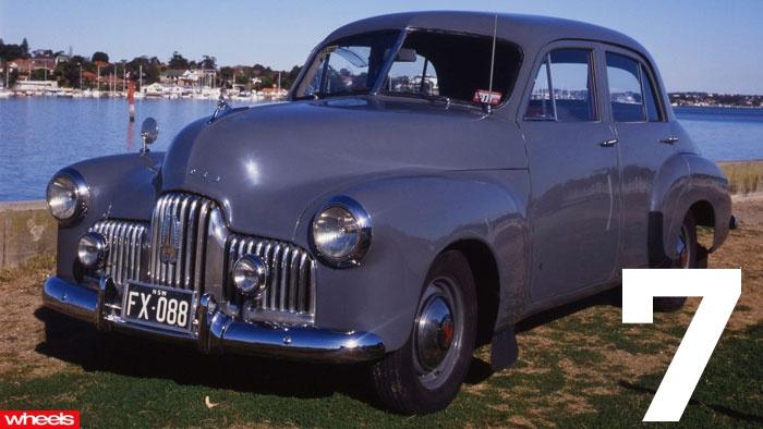 The Greatest Australian Car - EVER No 7. 'HOLDEN' 48-215. The first Holden. #Australia.  Wheels Magazine.
